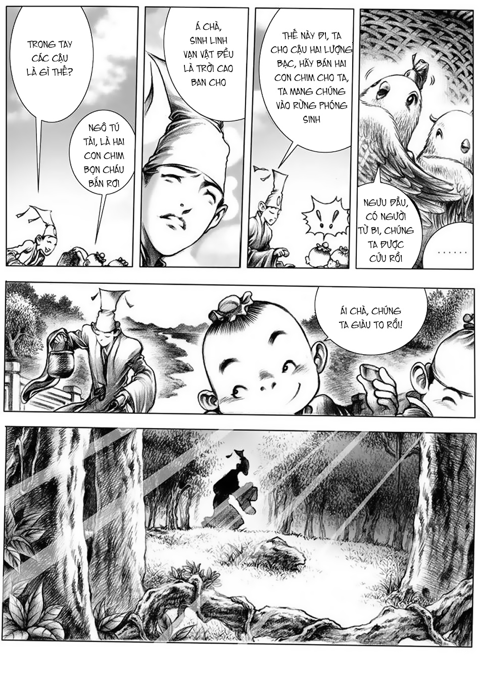 Chung Quỳ Truyền Kỳ Chapter 8 - Hamtruyen.vn