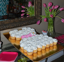 Barefoot In Bluejeans Pink And Yellow Bridal Shower