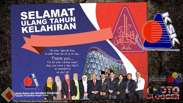 Kad Besday KSK JPN Johor - Finalize