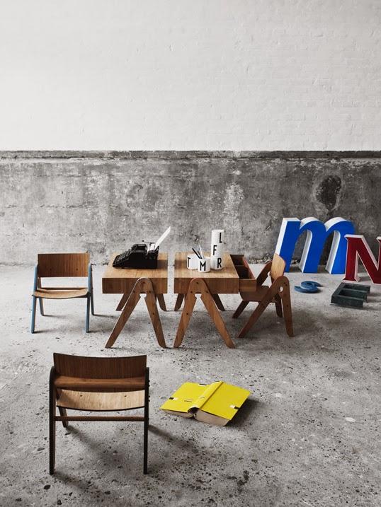 オシャレな木製の子供用家具