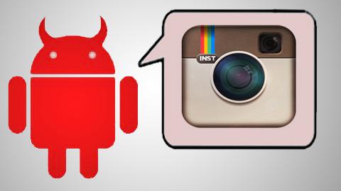 Instagram falso roba datos de los usuarios