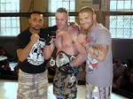<strong>Rik Ellis wins UK1 MMA Title - Belt</strong>