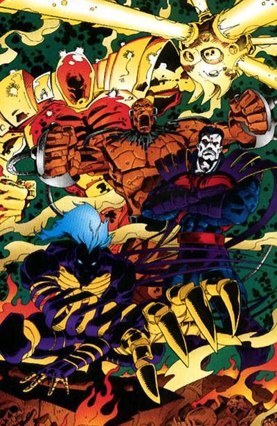 Horsemen of Apocalypse X Men Age Of Apocalypse Blink
