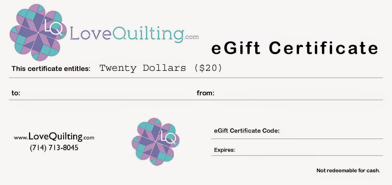 http://www.lovequilting.com/shop/accessories/20-egift-certificate/