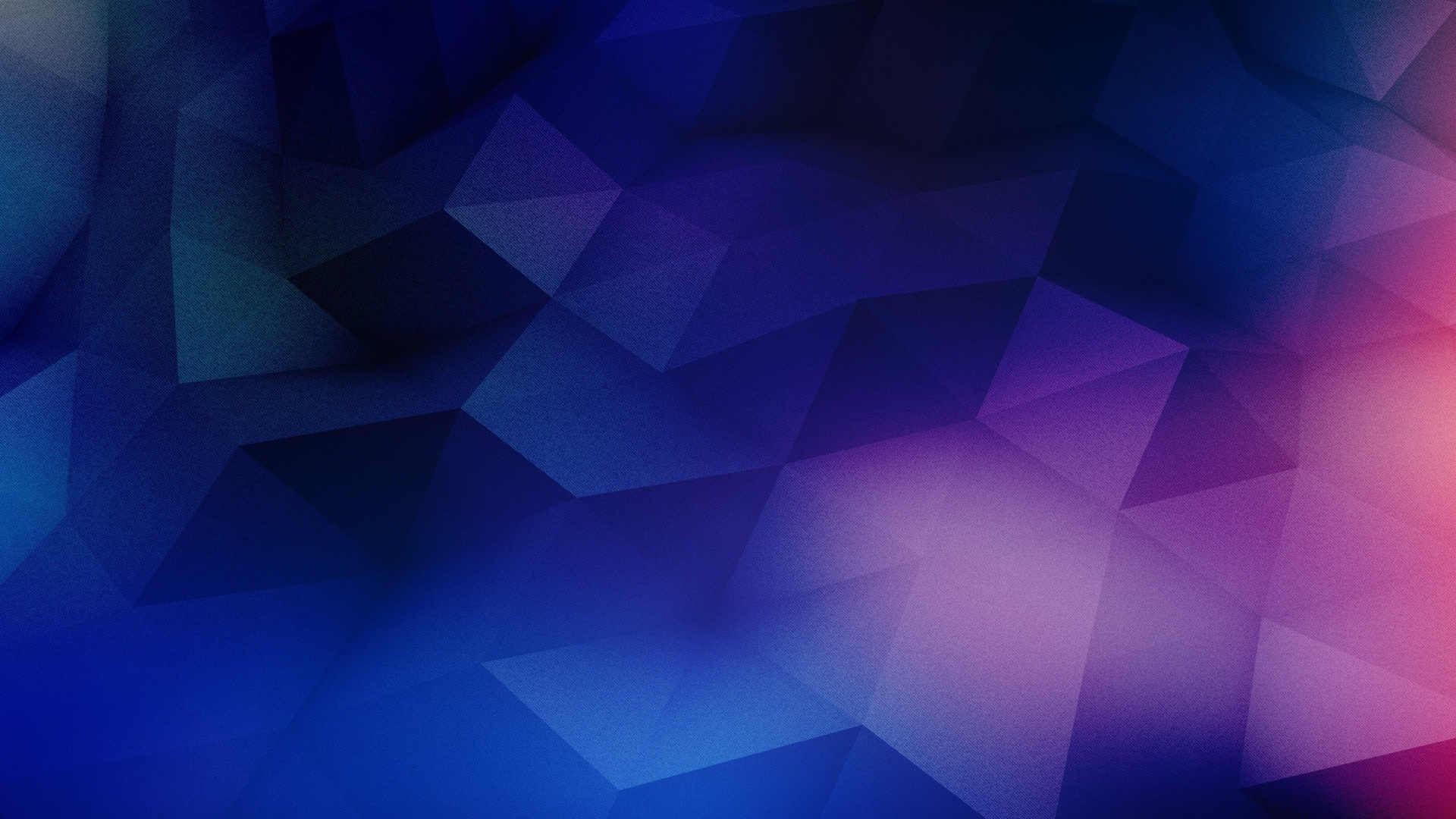 Abstract Polygon Blue With Pink wallpaper
