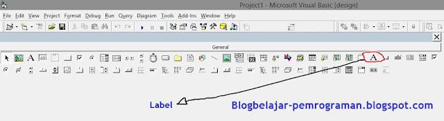 Tutorial Lengkap Penggunaan Label di Visual Basic 6.0
