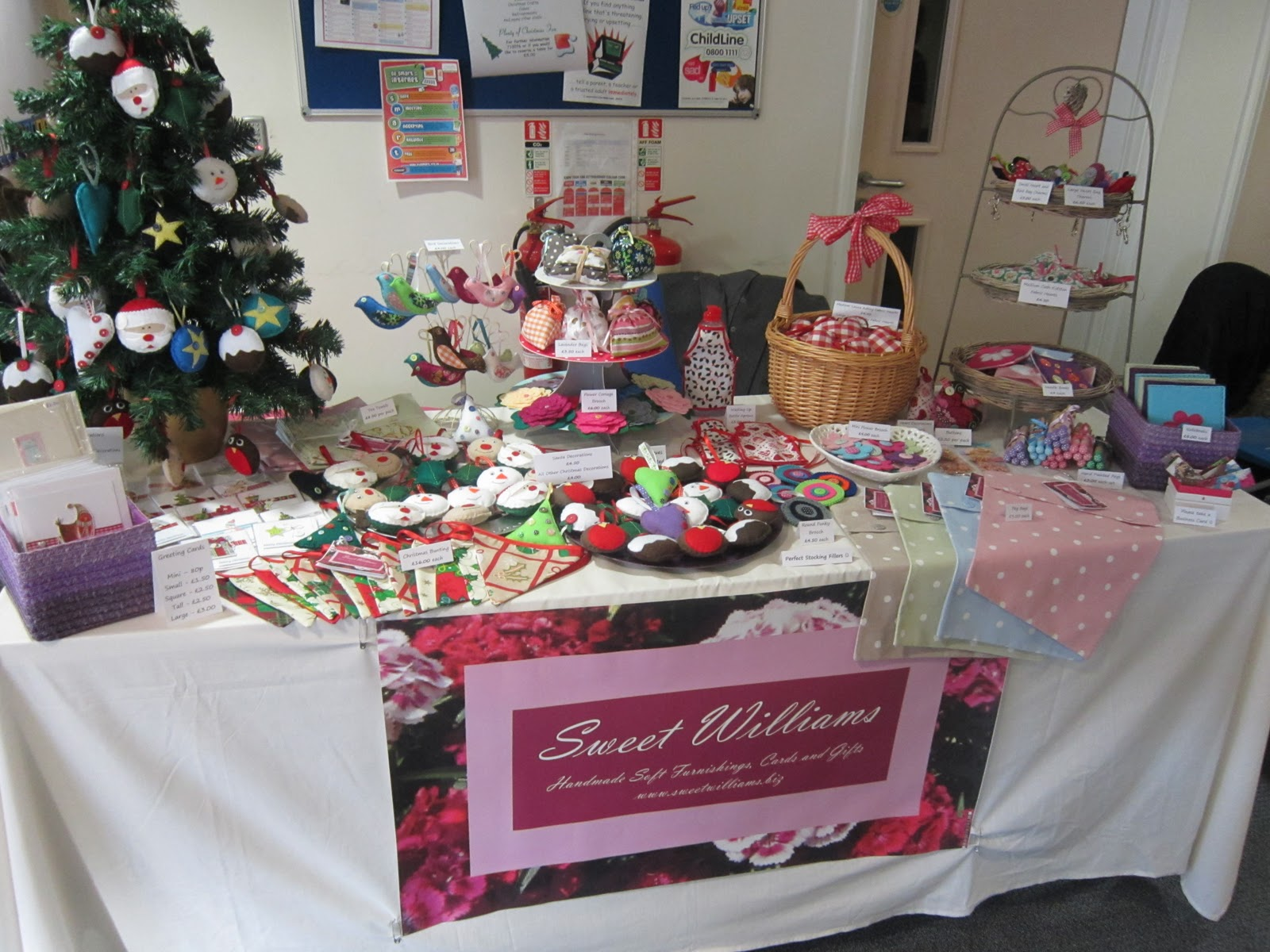 Ordinary Christmas Fayre Craft Ideas Part - 9: SWEET WILLIAMS: Craft Fair Tips.