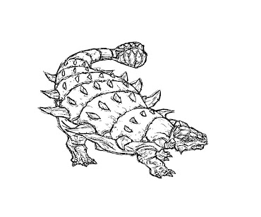 #3 Jurassic Park Coloring Page