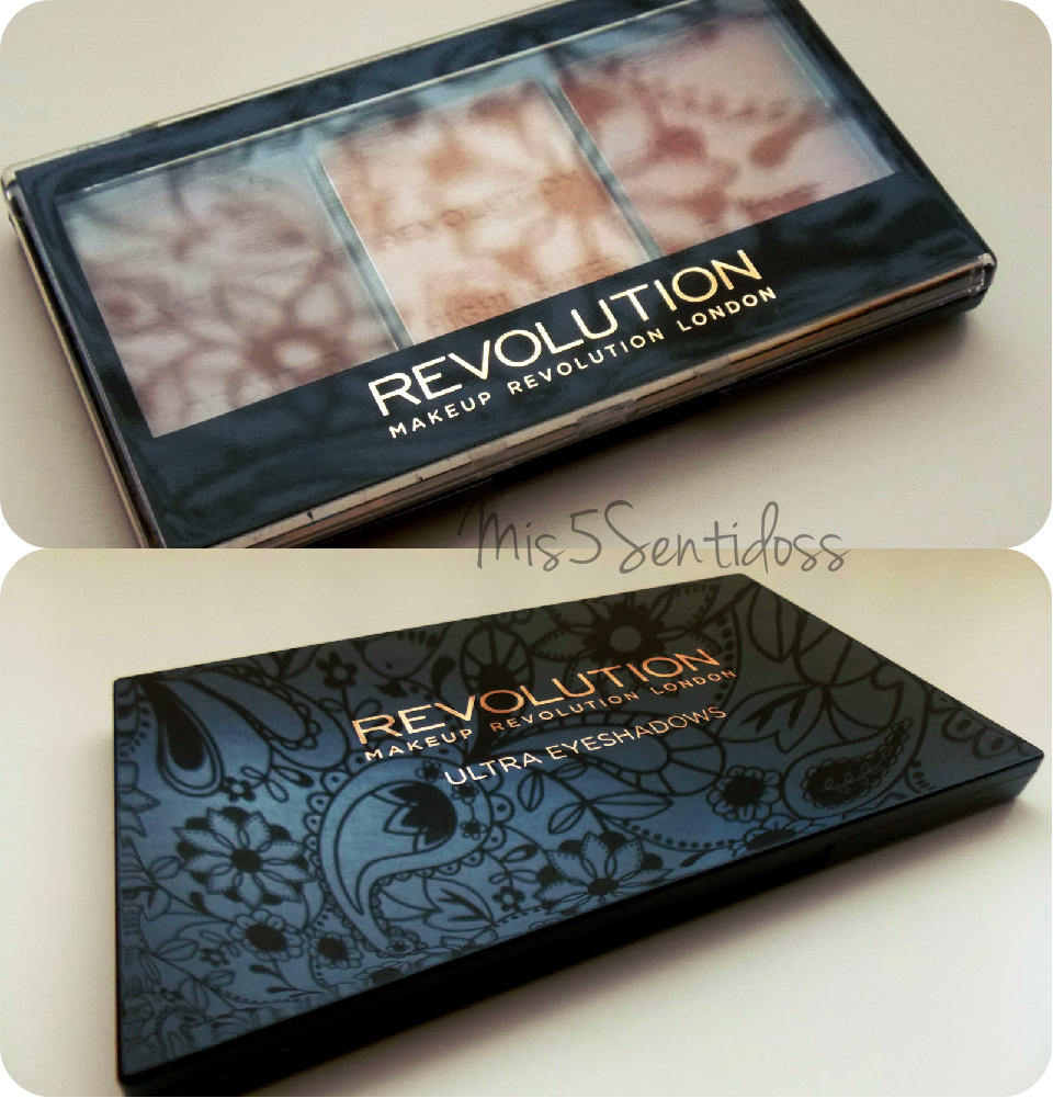 Makeup Revolution: Paleta se sombras Eyes Like Angels y Kit de contorno