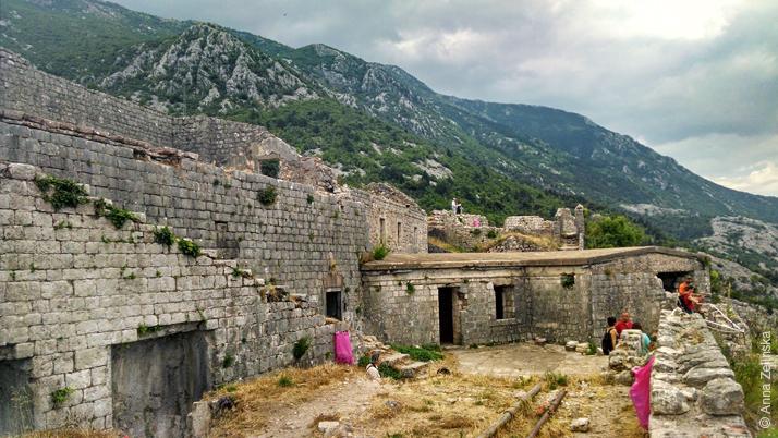 Крепость Святого Иоанна, Черногория