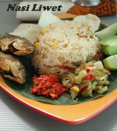 Nasi Liwet Sunda Resep