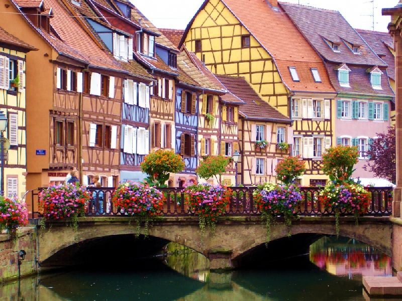 Tiny towns Colmar, France