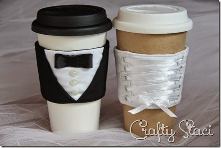 http://craftystaci.com/2014/04/23/coffee-sleeve-of-the-monthbride-and-groom/