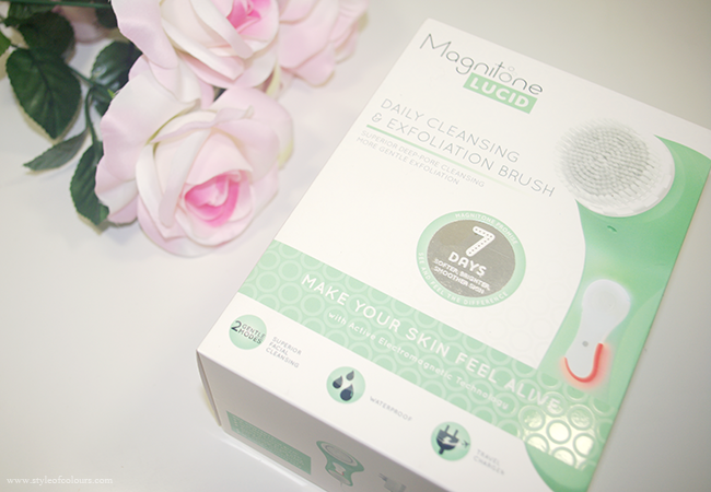Magnitone Lucid Daily Cleansing & Exfoliating Brush