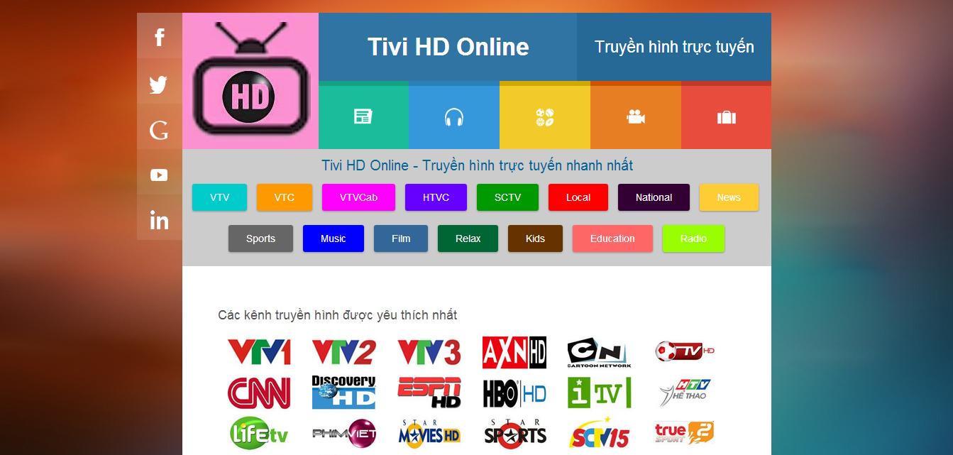 Share Template Blogspot Tivi HD Online