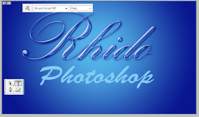 teks photoshop