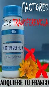 FACTORES DE TRANSFERENCIAS