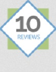 10 Reviews Badge on Netgalley