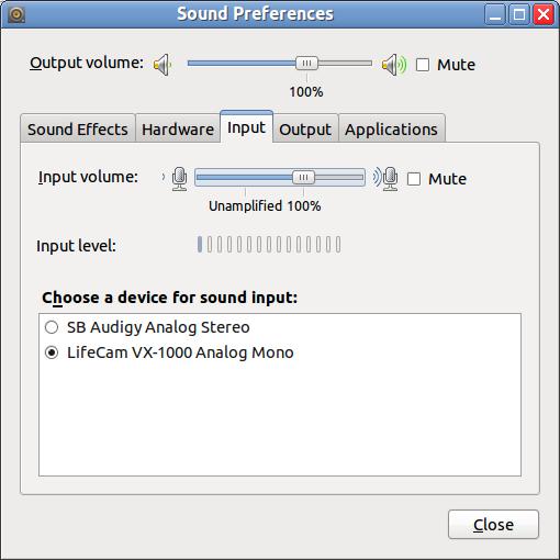 LifeCam VX-1000 on Ubuntu 10.04