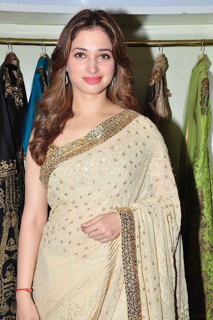 Tamannaah Bhatia Looks Absolutely Ravishing In Saree