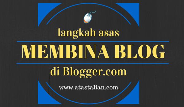 Bagaimana cara nak buat blog sendiri