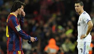 Cristiano Ronaldo admira el juego de Lionel Messi