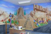 Malarstwo dekoracyjne, malowanie szkoły