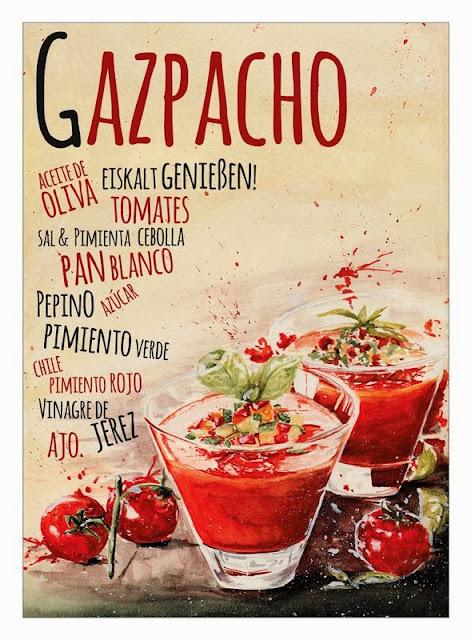 gazpacho vinagre