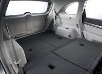 Chevrolet Captiva cu un spatiu urias de bagaje