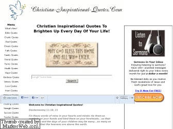 Christian Inspirational Quotes
