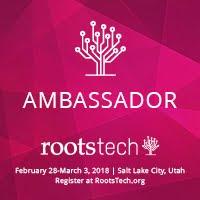 RootsTech 2018 Ambassador