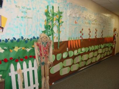 clutter free classroom garden themed classrooms