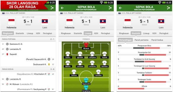 Download Aplikasi LiveScore Android Terbaik .APK FlashScore Indonesia Gratis Terbaru