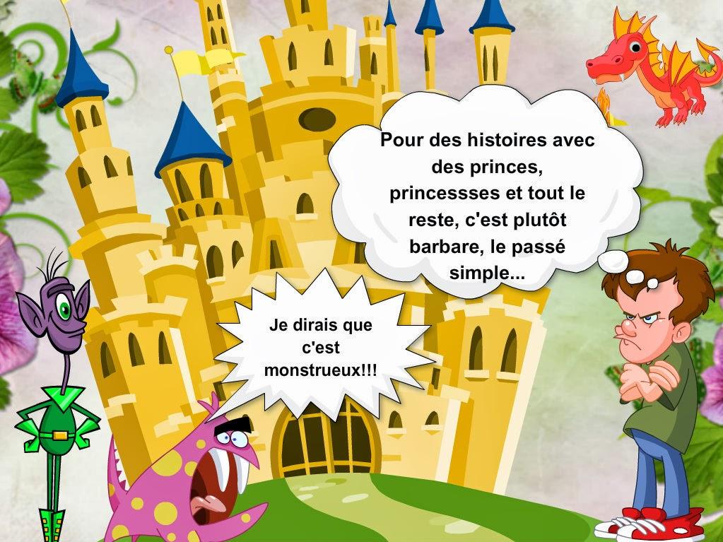 La classe de français: Le passé simple. Présentation audio ...