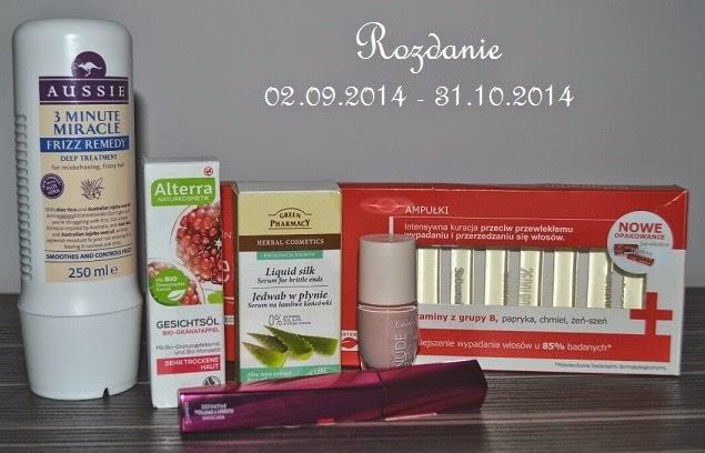 http://cosmeticwahnsinn.blogspot.com/2014/09/rozdanie-z-okazji-perwszych-urodzin.html