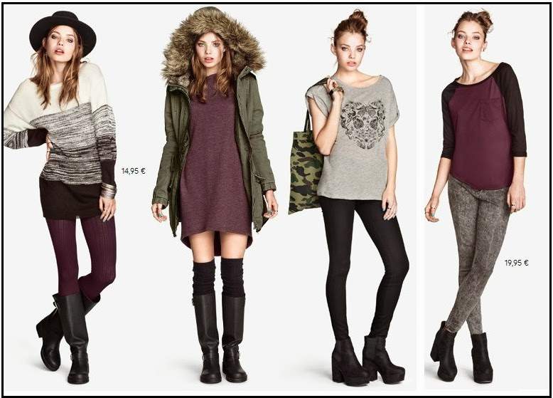 lookbook H&M 2013 noviembre