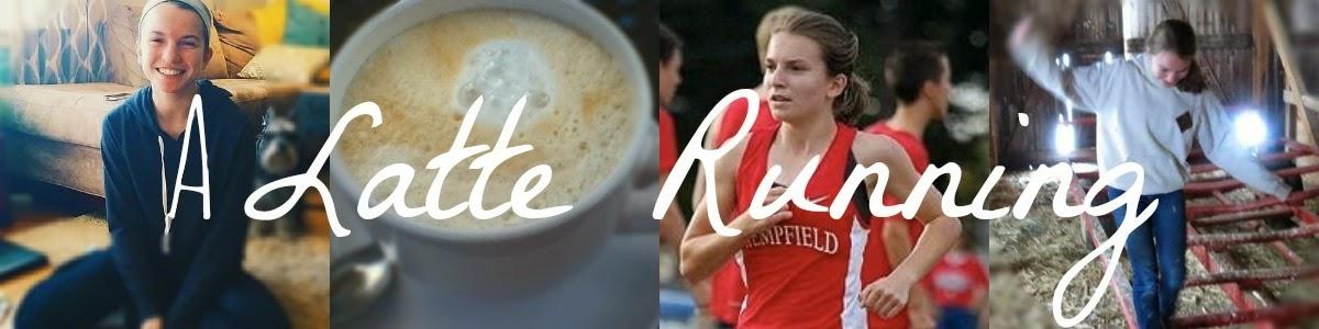 A Latte Running