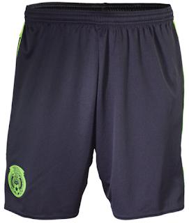Thailand Quality 15 16 Mexico Home White Soccer Shorts