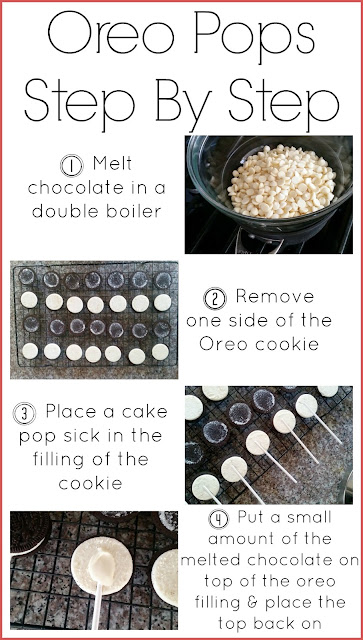 How to Make Oreo Pops
