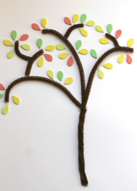 Three easy fall tree crafts for kids