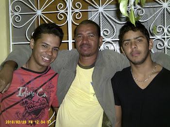 RONY, LEANDRO SANTOS E TIO JORGE