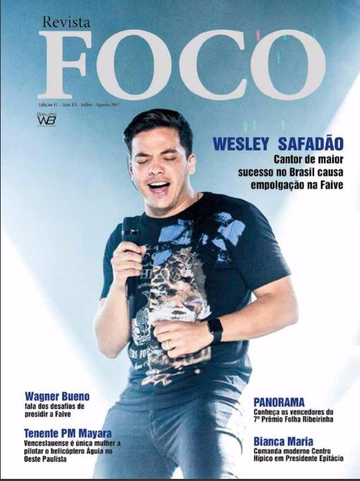 Leia a Revista Foco especial Faive 2017