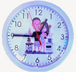 Relógio de Parede para Lembranças