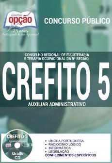 Apostila Concurso CREFITO 5ª Região - Auxiliar Administrativo - 2016