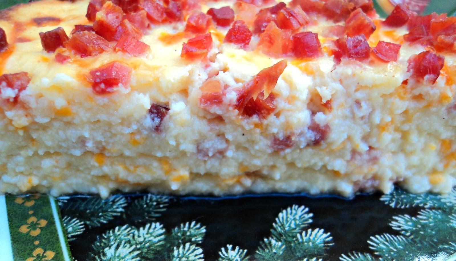 receta casera tarta salada, mousse, coliflor