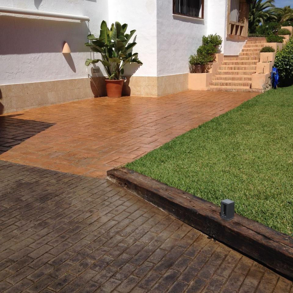 Renovar un suelo de hormig n impreso pavimentos de dise o for Hormigon impreso suelo
