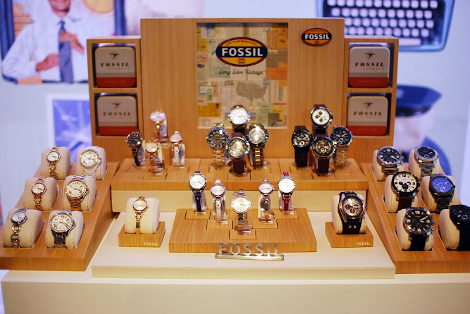 Fossil Spring Summer 2013 Watch and Leather Range