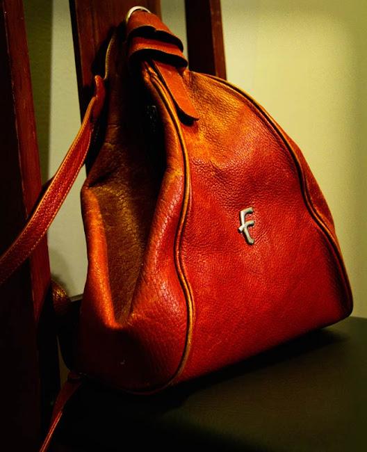 Fenneli leather backpack, Fenneli bag, Leather backpack, Community Thrift and Vintage find
