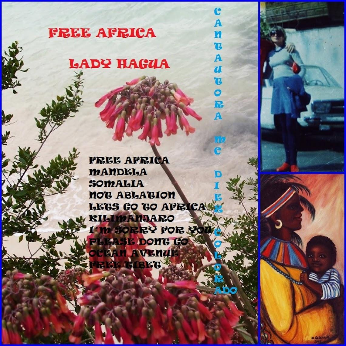 FREE AFRICA LADY HAGUA