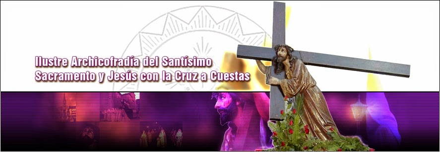 JESÚS con la CRUZ...  BURGOS